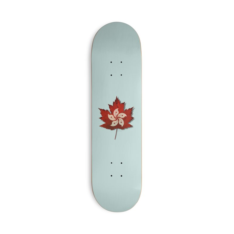 Hong Kong Maple Accessories Skateboard by Hadeda Creative's Artist Shop