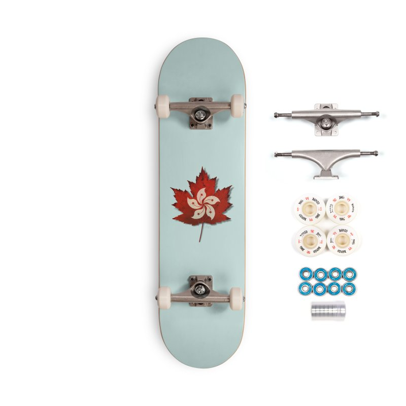 Hong Kong Maple Accessories Complete - Premium Skateboard by Hadeda Creative's Artist Shop