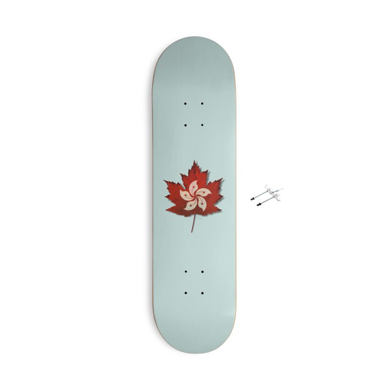 Hong Kong Maple Accessories With Hanging Hardware Skateboard by Hadeda Creative's Artist Shop