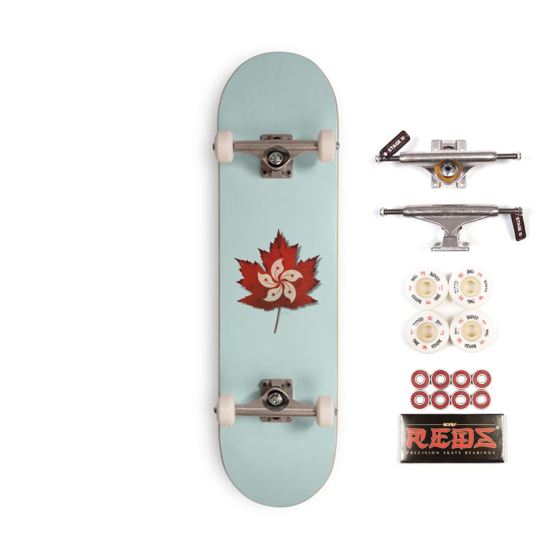 Hong Kong Maple Accessories Complete - Pro Skateboard by Hadeda Creative's Artist Shop