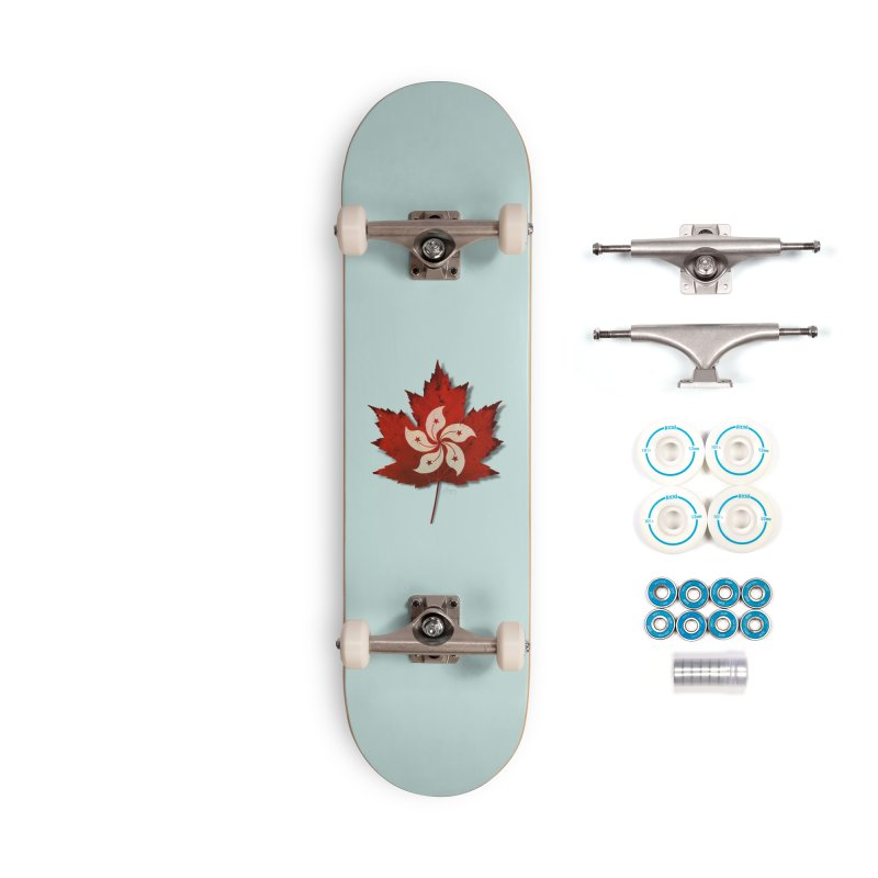 Hong Kong Maple Accessories Complete - Basic Skateboard by Hadeda Creative's Artist Shop