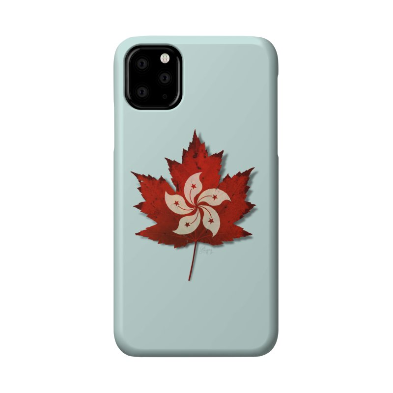 Hong Kong Maple Accessories Phone Case by Hadeda Creative's Artist Shop