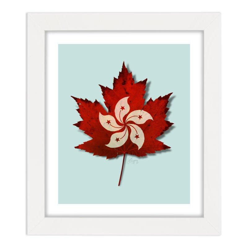 Hong Kong Maple Home Framed Fine Art Print by Hadeda Creative's Artist Shop