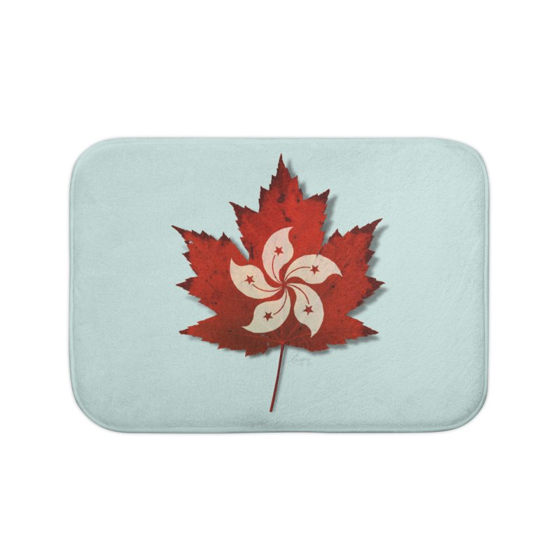 Hong Kong Maple Home Bath Mat by Hadeda Creative's Artist Shop