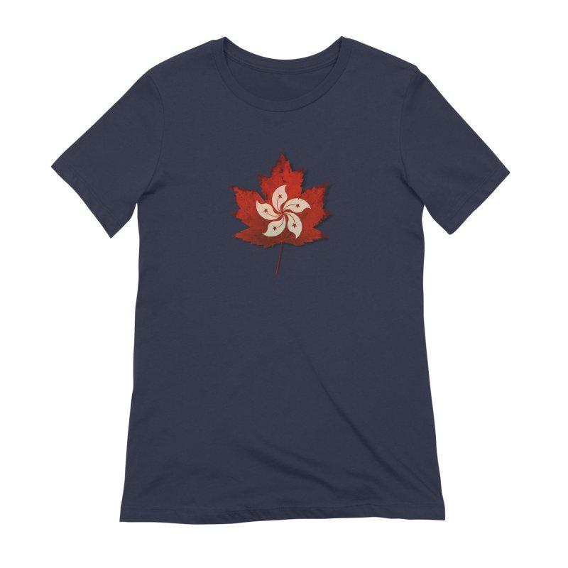Hong Kong Maple Women's Extra Soft T-Shirt by Hadeda Creative's Artist Shop