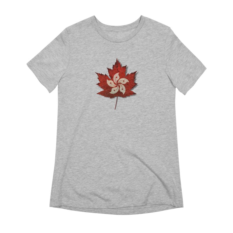 Hong Kong Maple Women's Extra Soft T-Shirt by Hadeda Creative's Artist Shop
