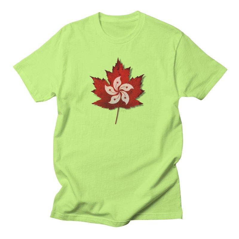 Hong Kong Maple Men's T-Shirt by Hadeda Creative's Artist Shop