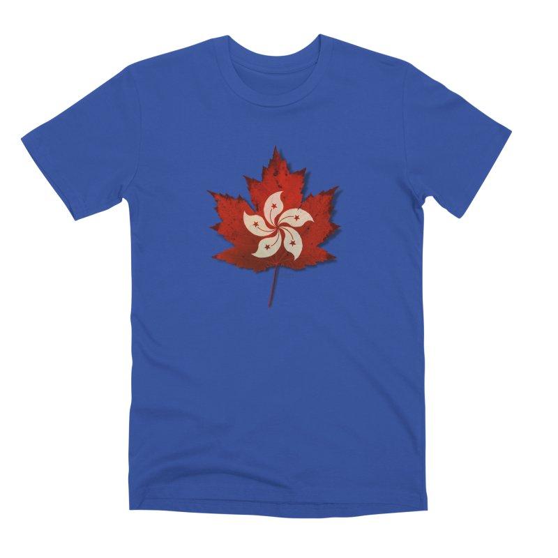 Hong Kong Maple Men's Premium T-Shirt by Hadeda Creative's Artist Shop