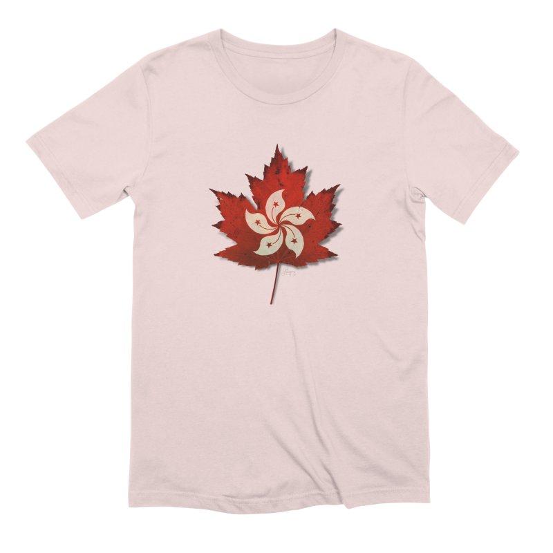 Hong Kong Maple Men's Extra Soft T-Shirt by Hadeda Creative's Artist Shop