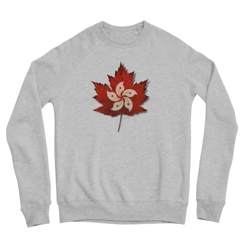 Hong Kong Maple Women's Sponge Fleece Sweatshirt by Hadeda Creative's Artist Shop