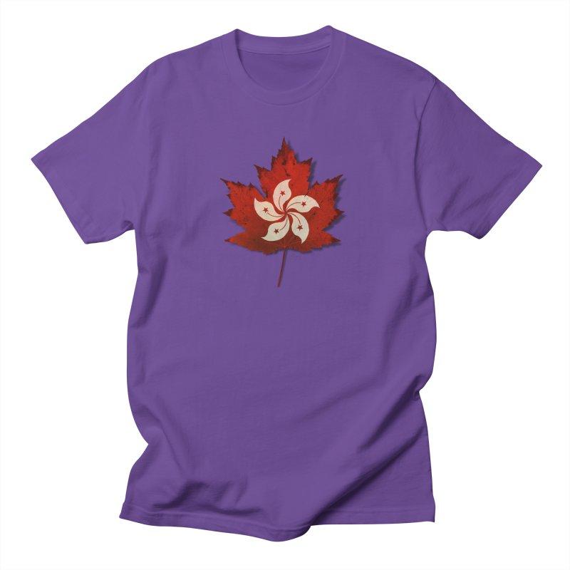 Hong Kong Maple Women's Regular Unisex T-Shirt by Hadeda Creative's Artist Shop