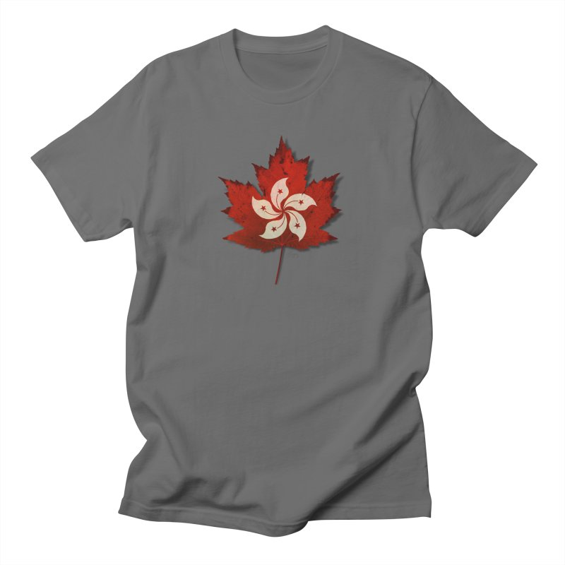 Hong Kong Maple Men's T-Shirt by Hadeda Creative's Artist Shop