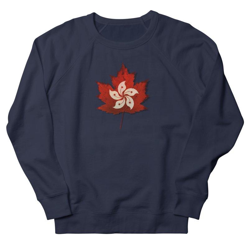 Hong Kong Maple Women's Sweatshirt by Hadeda Creative's Artist Shop