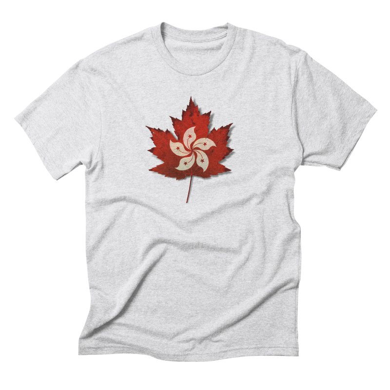 Hong Kong Maple Men's Triblend T-Shirt by Hadeda Creative's Artist Shop