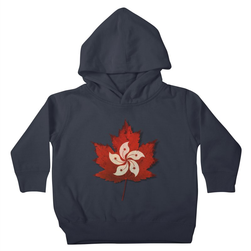 Hong Kong Maple Kids Toddler Pullover Hoody by Hadeda Creative's Artist Shop