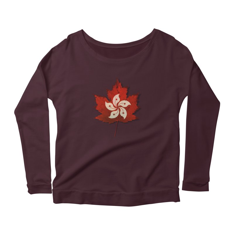 Hong Kong Maple Women's Longsleeve T-Shirt by Hadeda Creative's Artist Shop