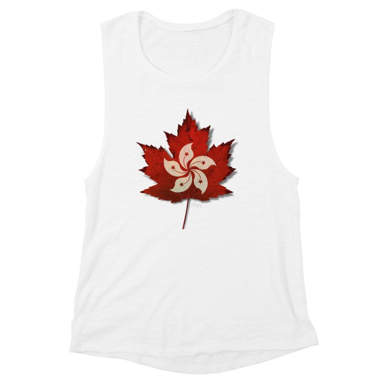 Hong Kong Maple Women's Muscle Tank by Hadeda Creative's Artist Shop