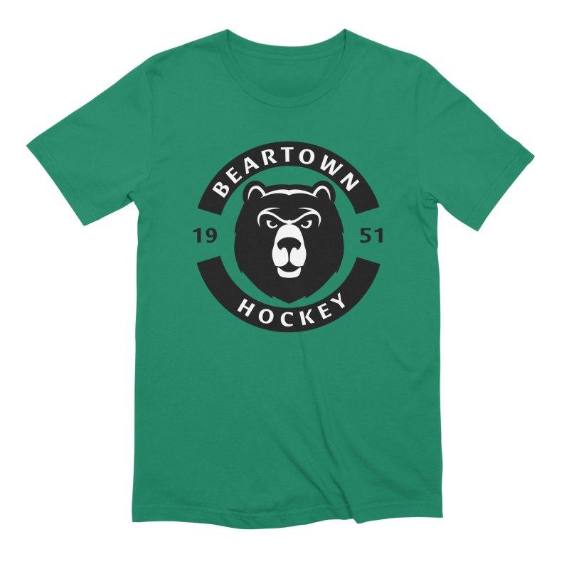 Beartown Hockey Men's Extra Soft T-Shirt by Hadeda Creative's Artist Shop