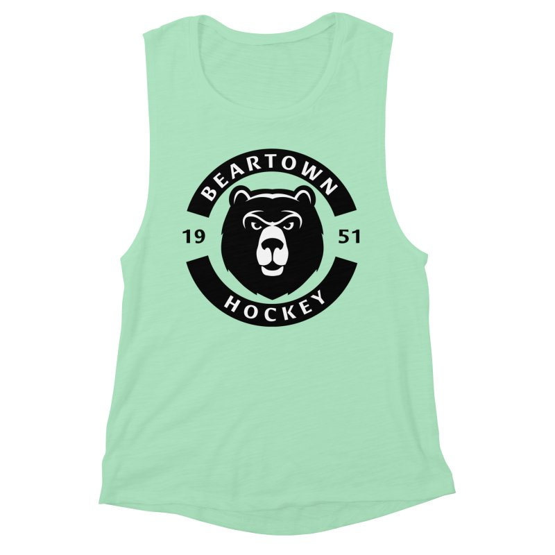 Beartown Hockey Women's Muscle Tank by Hadeda Creative's Artist Shop