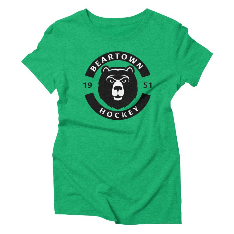 Beartown Hockey Women's Triblend T-Shirt by Hadeda Creative's Artist Shop