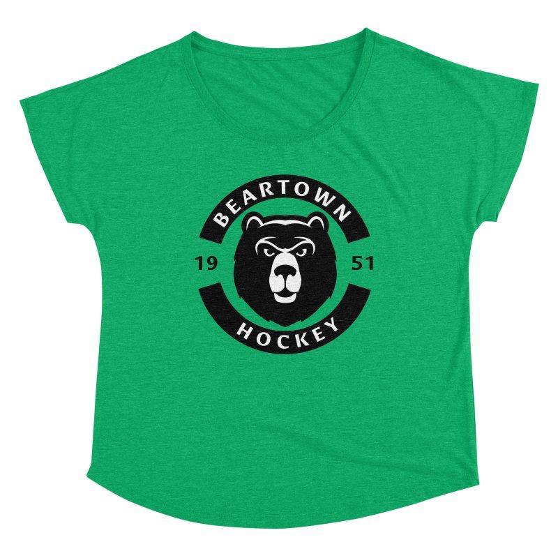 Beartown Hockey Women's Scoop Neck by Hadeda Creative's Artist Shop