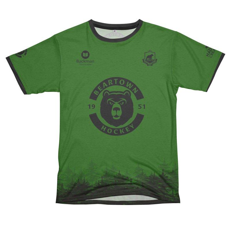 Beartown Hockey (One Colour Logo) Women's Cut & Sew by Hadeda Creative's Artist Shop