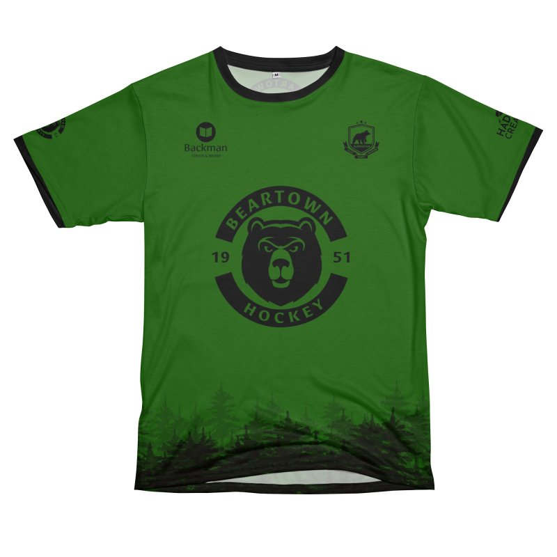 Beartown Hockey (One Colour Logo) Women's Cut & Sew by Hadeda Creative's Artist Shop