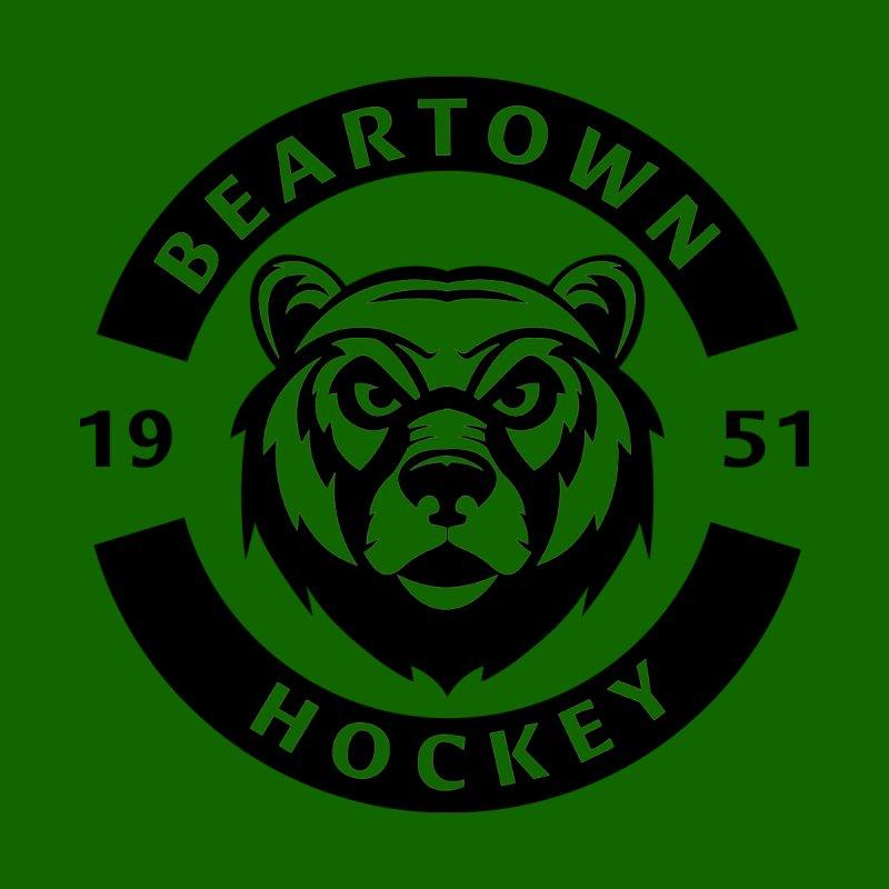 Beartown Hockey (One Colour Logo) by Hadeda Creative's Artist Shop