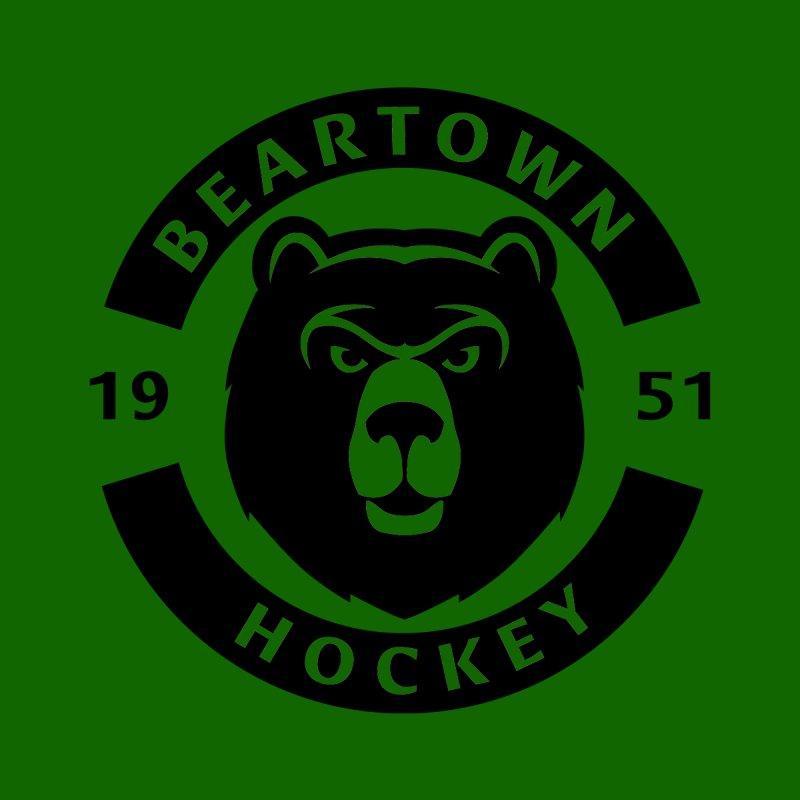 Beartown Hockey (One Colour Logo) Home Framed Fine Art Print by Hadeda Creative's Artist Shop