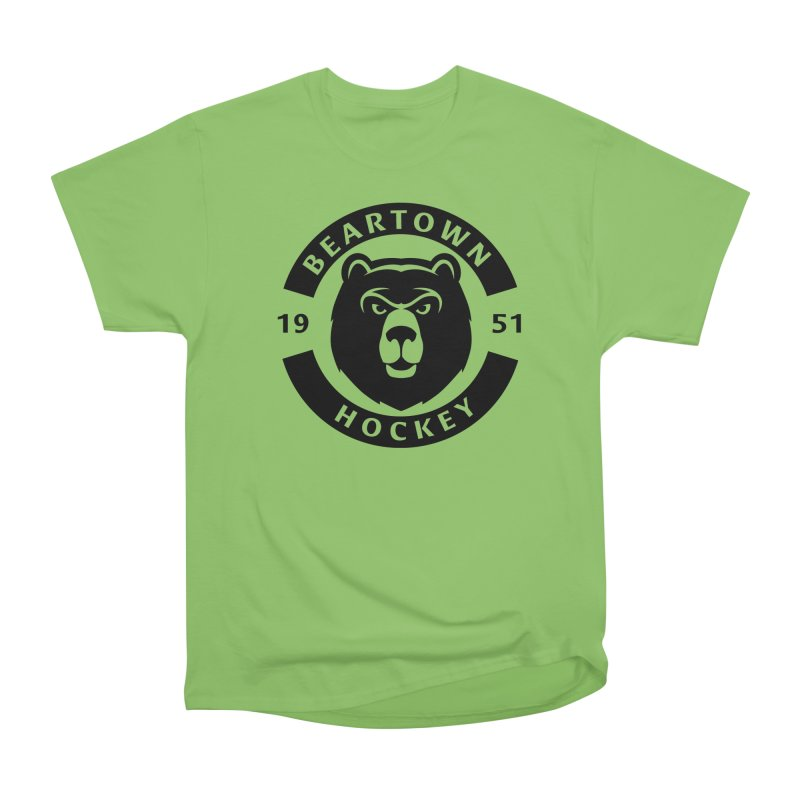 Beartown Hockey (One Colour Logo) Women's T-Shirt by Hadeda Creative's Artist Shop