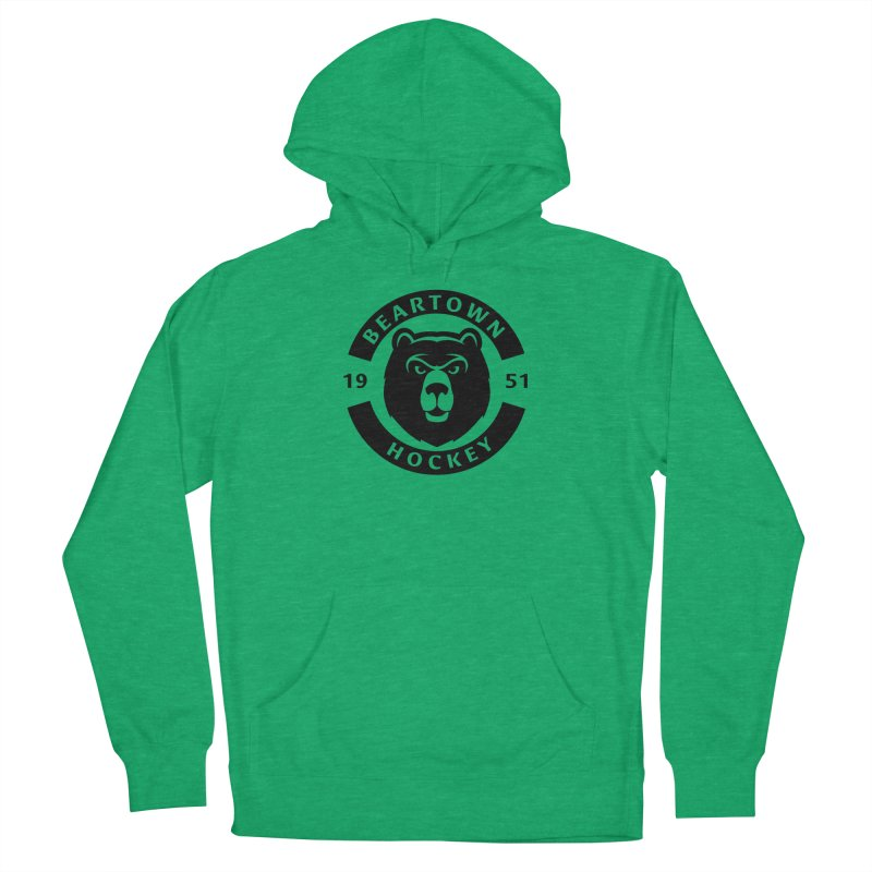 Beartown Hockey (One Colour Logo) Women's Pullover Hoody by Hadeda Creative's Artist Shop