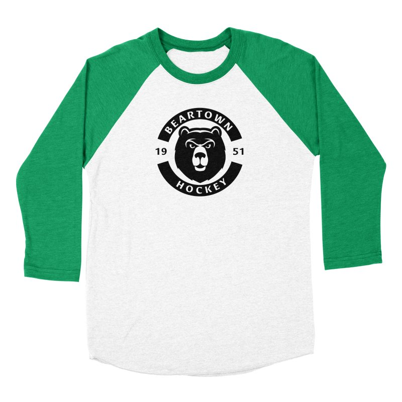 Beartown Hockey (One Colour Logo) Women's Longsleeve T-Shirt by Hadeda Creative's Artist Shop