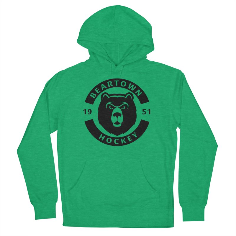 Beartown Hockey (One Colour Logo) Men's French Terry Pullover Hoody by Hadeda Creative's Artist Shop