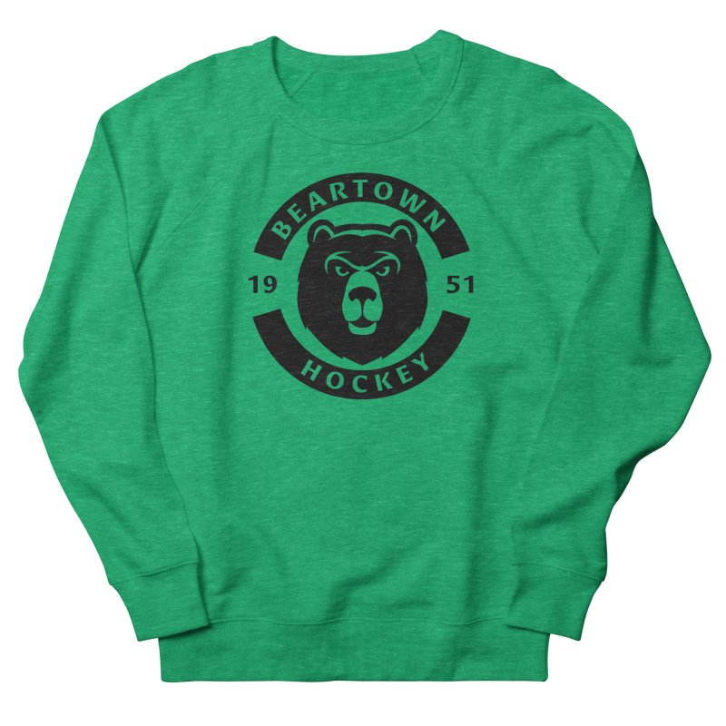 Beartown Hockey (One Colour Logo) Men's French Terry Sweatshirt by Hadeda Creative's Artist Shop