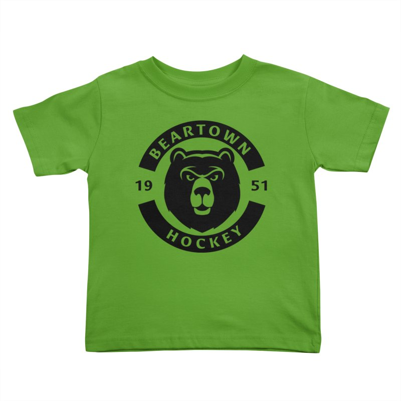 Beartown Hockey (One Colour Logo) Kids Toddler T-Shirt by Hadeda Creative's Artist Shop