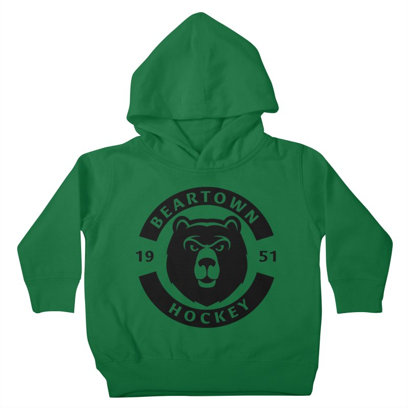 Beartown Hockey (One Colour Logo) Kids Toddler Pullover Hoody by Hadeda Creative's Artist Shop