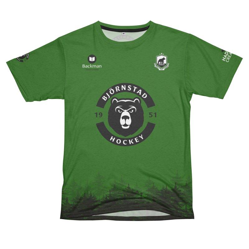 Björnstad Hockey Women's Unisex French Terry T-Shirt Cut & Sew by Hadeda Creative's Artist Shop