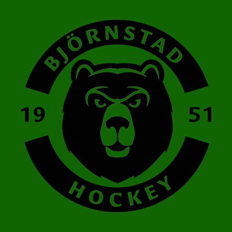 Björnstad Hockey Men's T-Shirt by Hadeda Creative's Artist Shop