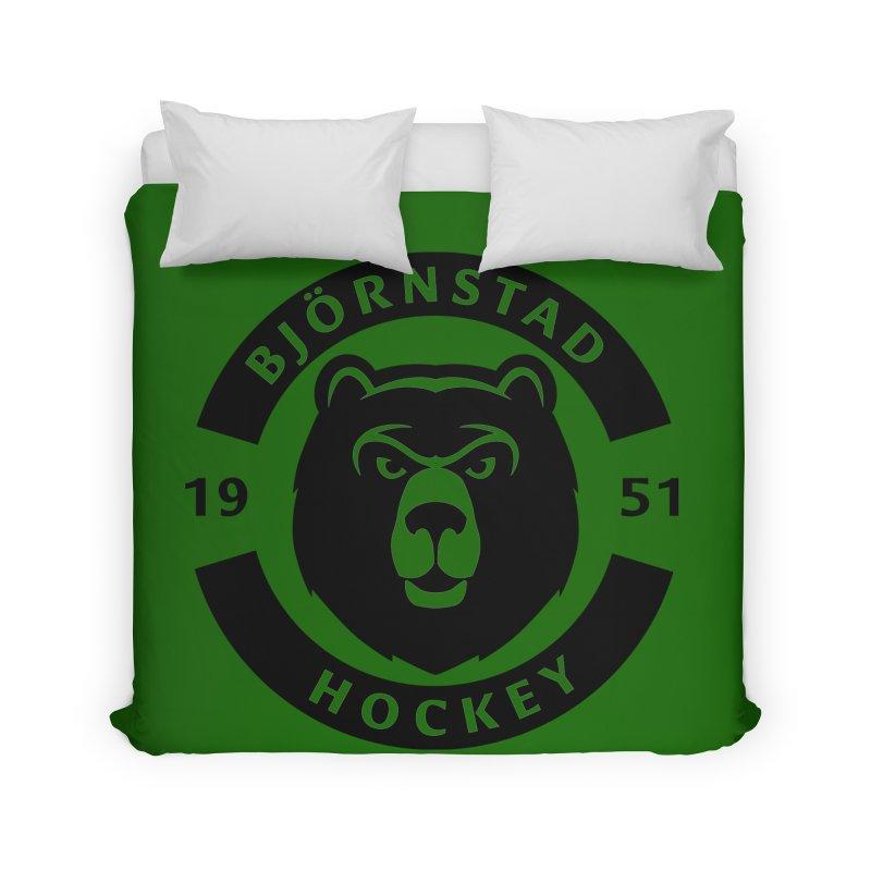 Björnstad Hockey Home Duvet by Hadeda Creative's Artist Shop