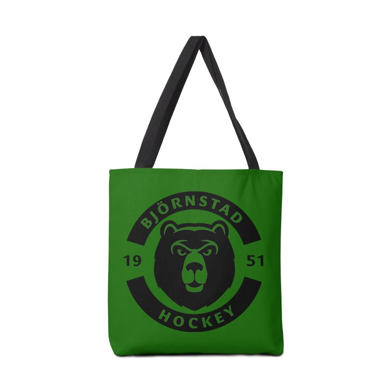 Björnstad Hockey Accessories Tote Bag Bag by Hadeda Creative's Artist Shop