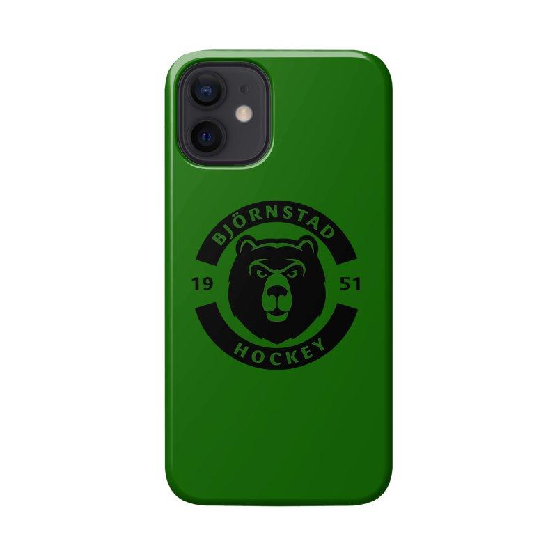 Björnstad Hockey (One Colour Logo) Accessories Phone Case by Hadeda Creative's Artist Shop