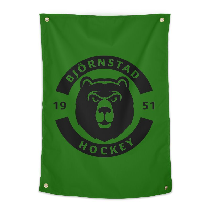 Björnstad Hockey Home Tapestry by Hadeda Creative's Artist Shop