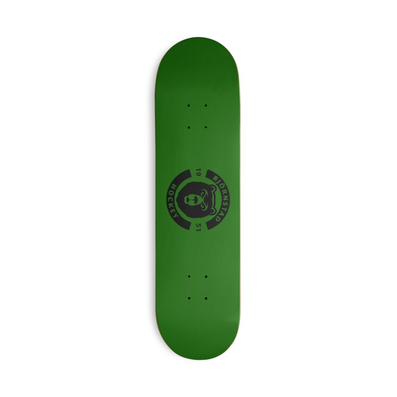 Björnstad Hockey Accessories Deck Only Skateboard by Hadeda Creative's Artist Shop