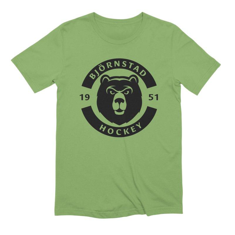 Björnstad Hockey (One Colour Logo) Men's T-Shirt by Hadeda Creative's Artist Shop