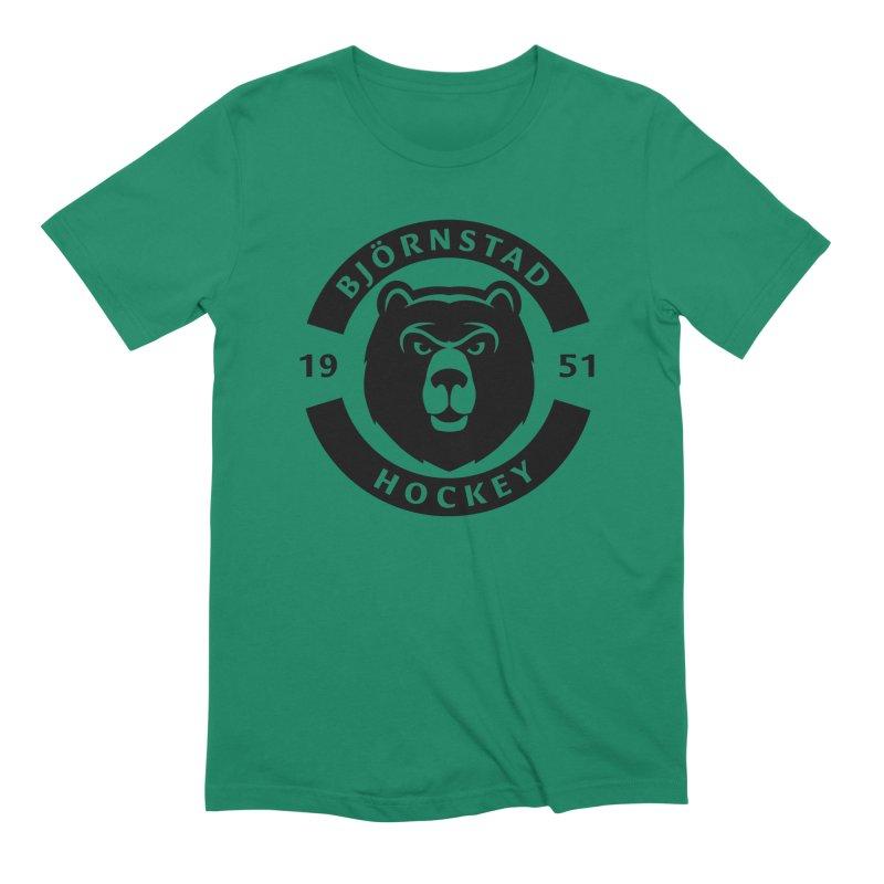 Björnstad Hockey Men's Extra Soft T-Shirt by Hadeda Creative's Artist Shop