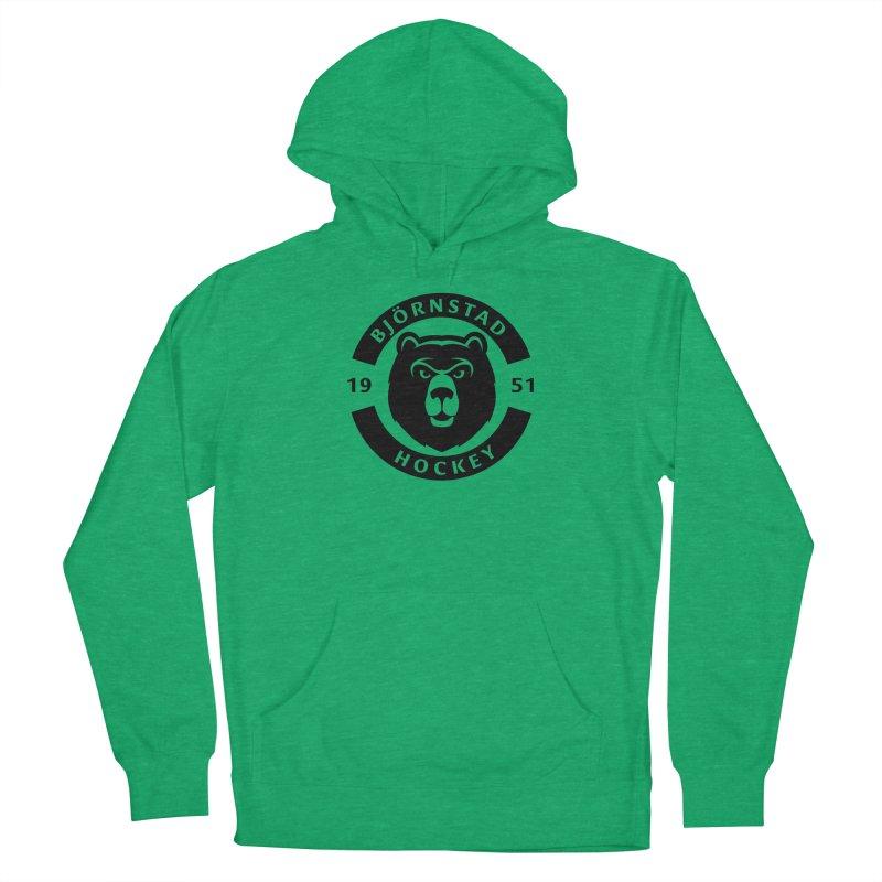 Björnstad Hockey (One Colour Logo) Women's Pullover Hoody by Hadeda Creative's Artist Shop