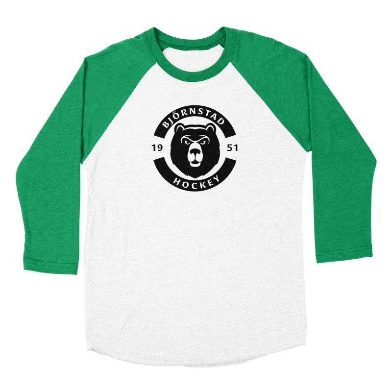 Björnstad Hockey (One Colour Logo) Men's Longsleeve T-Shirt by Hadeda Creative's Artist Shop