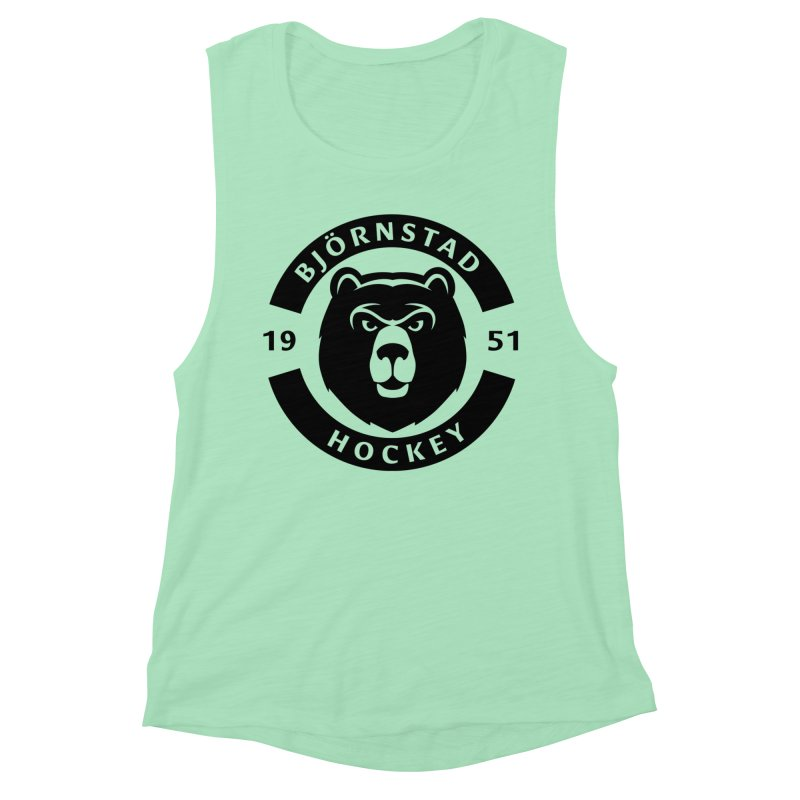 Björnstad Hockey Women's Muscle Tank by Hadeda Creative's Artist Shop