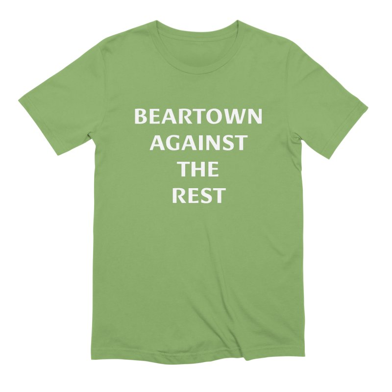Beartown Against The Rest (Version 2) Men's Extra Soft T-Shirt by Hadeda Creative's Artist Shop