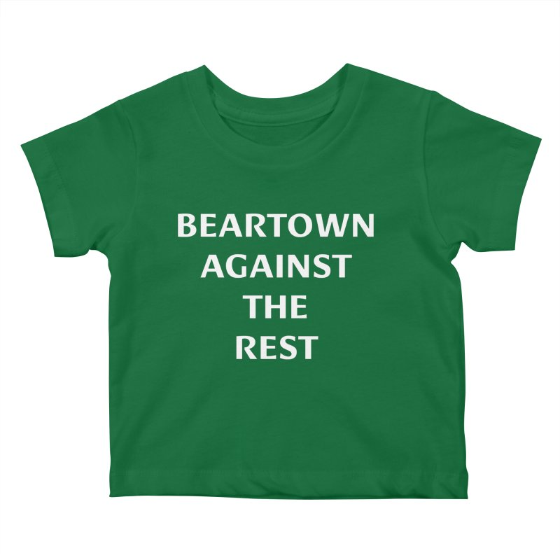 Beartown Against The Rest (Version 2) Kids Baby T-Shirt by Hadeda Creative's Artist Shop